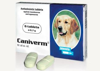 Caniverm Forte Tablets
